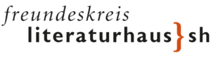 Logo Freundeskreis des Literaturhauses S.-H.